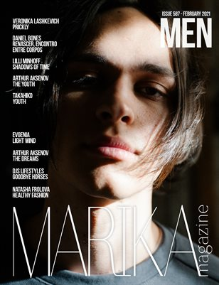 MARIKA MAGAZINE MEN (ISSUE 587 - February)