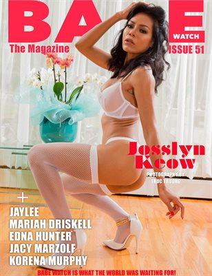 BABE WATCH ISSUE 51 FT. JOSSLYN