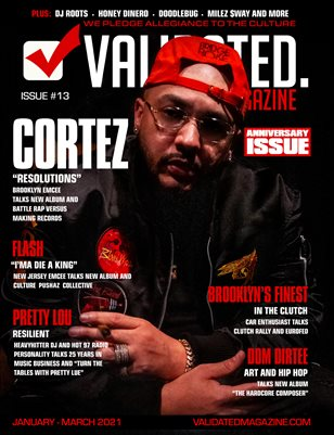 Validated Magazine ft. Cortez