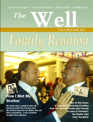 The Well Maagazine Fall/Winter 2013