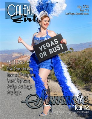 Calendar Girls - Issue Twelve - July 2016 - Sammie Marie