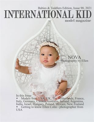 International Kid Model Magazine Issue 90, Babies and Toddlers