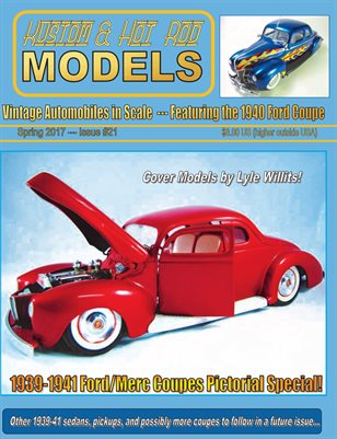 Kustom and Hot Rod Models - Spring 2017, Issue #21