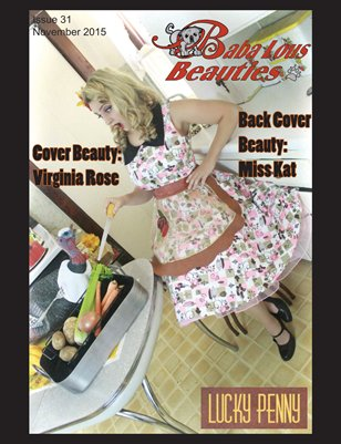 Baba Lous Beauties- Anything Pin Up Issue 31: November 2015