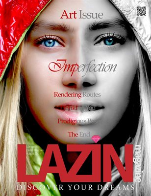 Lazin Magazine - Imperfection - August 2021