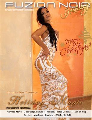 Fuzion Noir Jacquelyn Tamayo Fashion Xmas 2020 issue1 cover3