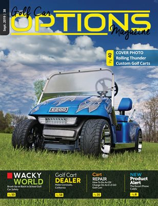 Golf Car Options Magazine - September 2019