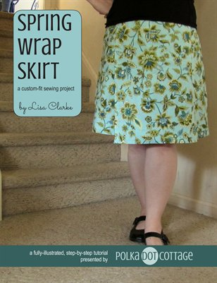 Spring Wrap Skirt Sewing Tutorial