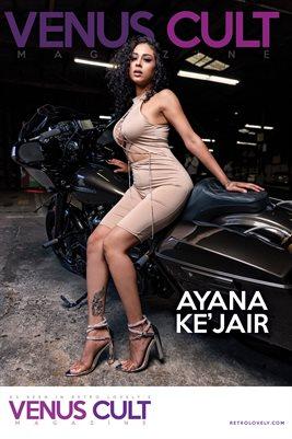Venus Cult No.47 – Ayana Ke'Jair  Cover Poster