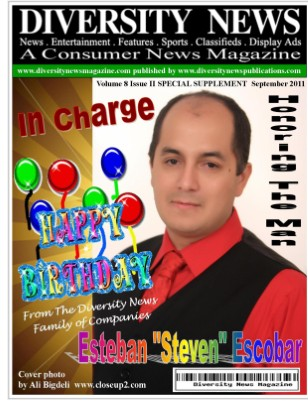 Diversity News Magazine Autumn Featuring Steven Escobar