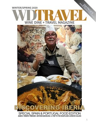 WINE DINE & TRAVEL MAGAZINE WINTER 2020 EATING IBERIA
