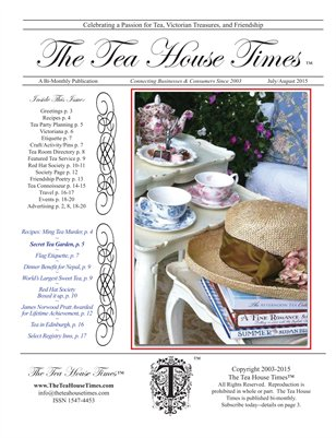 The Tea House Times July/Aug 2015 Issue