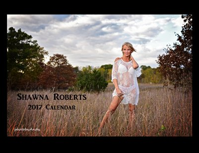 Model Shawna Roberts 2017 Meadow Calendar