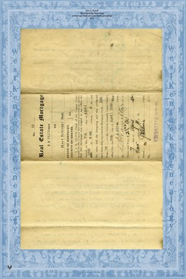 (PAGES 1-2) 1932 Mortgage, H.M. Williams to First National Bank, Mayfield, Graves County, Kentucky