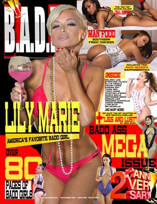 2 Year Anniversary Issue (Lily Marie Cover)