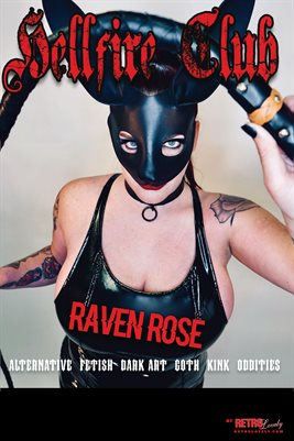 Hellfire Club  No.4 – Raven Rose Cover Poster