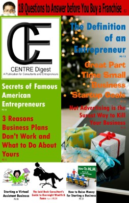 CENTRE Digest Holiday Edition