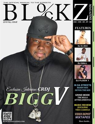 2016 Fall Edition : Cover Story DJ Bigg V