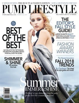 PUMP Lifestyle - The Beauty & Fashion Edition | November 2018 | V.III