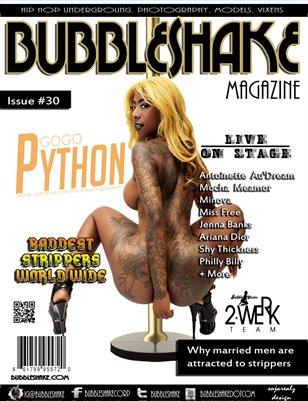 Bubble Shake magazine issue 30 (Go Go Python)
