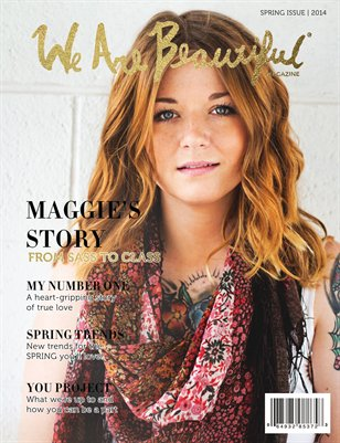 We are Beautiful Magazine: Spring 2014