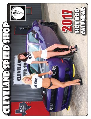 Cleveland Speed Shop 2017 Calendar