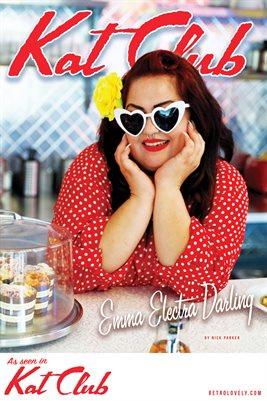 Kat Club No.28 – Emma Electra Darling Cover Poster