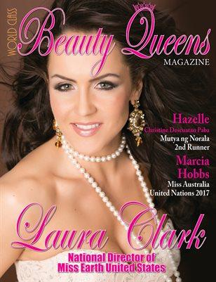 World Class Beauty Queens Magazine with Laura Clark