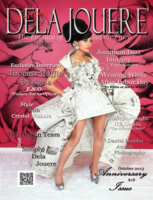 Simply Dela Jouere Fashion Magazine October 2013 Anniversary Issue