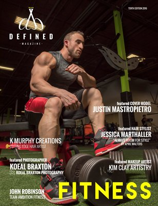 DEFINED MAGAZINE TENTH EDITION - FITNESS ISSUE