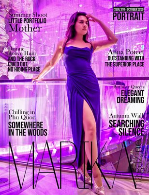 MARIKA MAGAZINE PORTRAIT (October - issue 310)