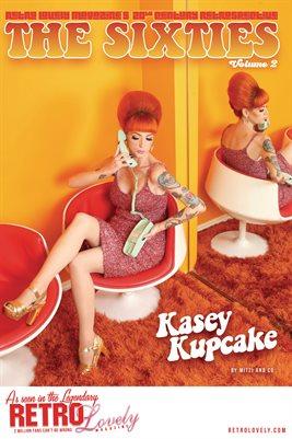 20th Century Retrospective – The 60's Vol. 2 – Kasey Kupcake Cover Poster
