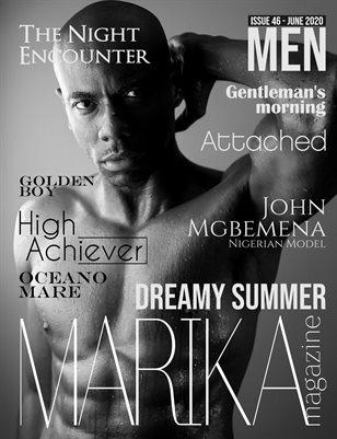 MARIKA MAGAZINE MEN (June - issue 46)