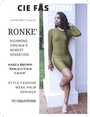 "CIE ""Class Is Everything"" Fashion Magazine"