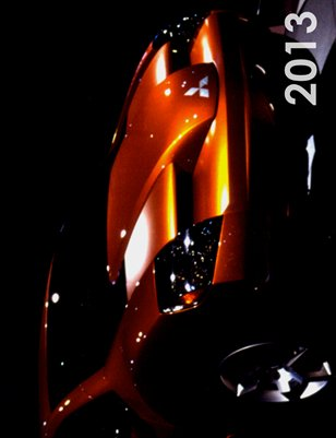 2013 Best Look Magazine Concept Car Calendar