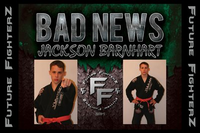 Jackson BAD NEWS Barnhart Poster