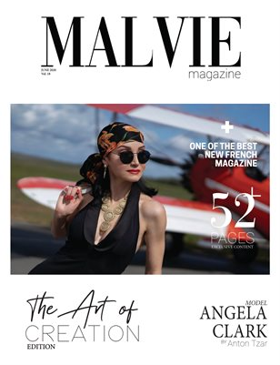 MALVIE Mag | The ART of Creation | Vol. 20 JUNE 2020