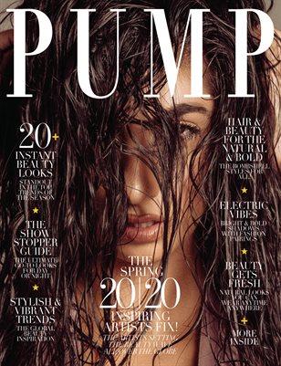 PUMP Magazine | Hair & Makeup Artist Edition | Vol.4 | April 2020