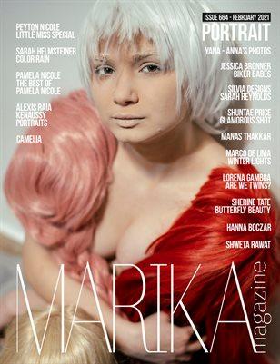 MARIKA MAGAZINE PORTRAIT (ISSUE 664 - February)