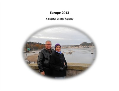 Europe 2013 spiral bound