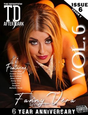 TDM Fanny Vera After Dark 6th Anniversary vol.6 cover 2