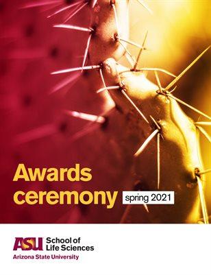 School of Life Sciences Scholarship Awards Ceremony 2021