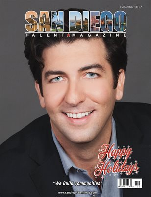 San Diego Talent Magazine December 2017 Edition