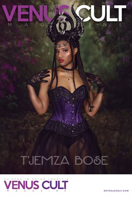 Venus Cult No.39 – T'Jemza Bose Cover Poster