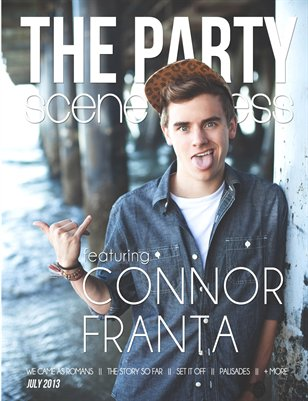 July 2013: Connor Franta