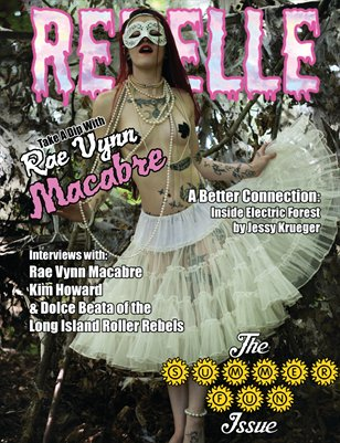 Rebelle - Summer Fun Issue (Rae Vynn Macabre Cover)