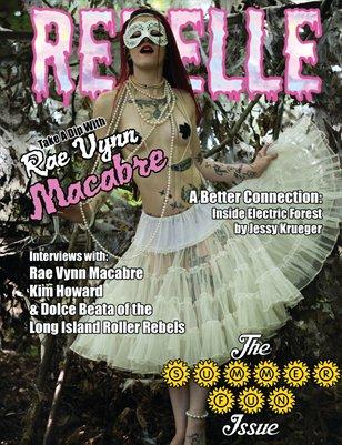 Rebelle - Summer Fun Issue (Rae Vynn Macabre Cover)