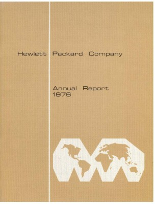 HP Annual Report 1976