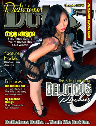 December 2015 Regular Issue - Delicious Ruckus Cover