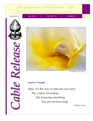 May 2012 Cable Release, Vol. 53, No. 9